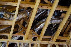 вентиляционная система для отопления и охлаждения дома.