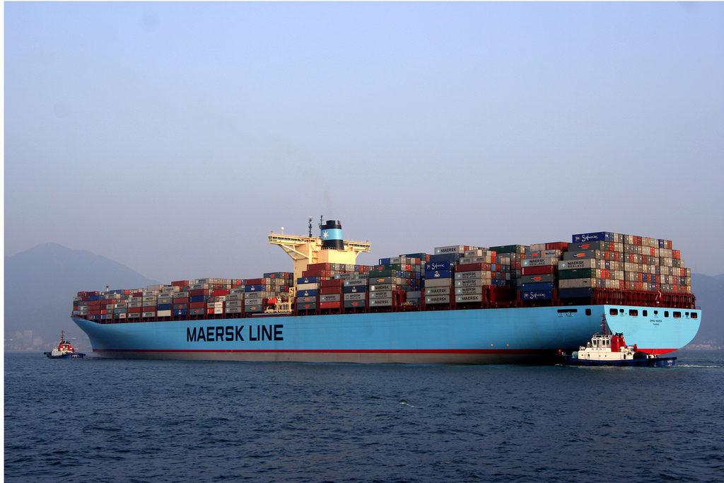 Контейнеровоз EMMA MAERSK. Фотография: Maersk Line (c)