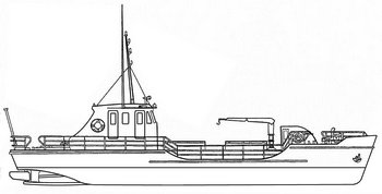Live-fish carrier project 926 (с) soviet-trawler.narod.ru