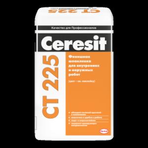 Ceresit CT 225 Финишная шпаклевка для наружных и внутренних работ