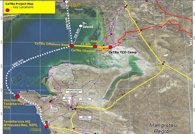 Карта Схема CaTRo / http://www.avencom.com/ (кликабельно)