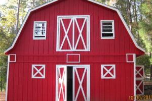 Красный американский амбар/сарай (с) http://littlebentcreekfarm.blogspot.ru/