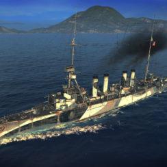 Премиум крейсер 5го уровня Marblehead, США (с) WOWS