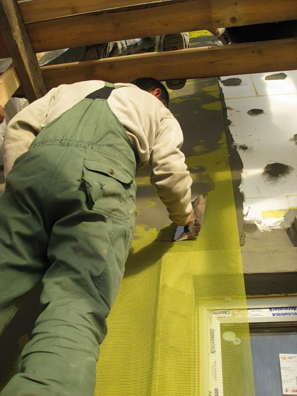 Создание базового армирующего слоя. Фото 2.