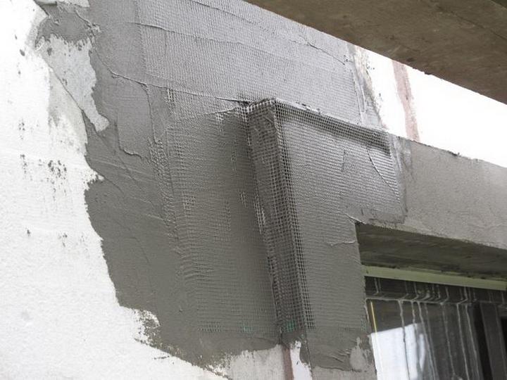 Установка декоративных элементах фасада. Фото 3.