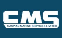 Логотип компании Caspian Marine Service (CMS)