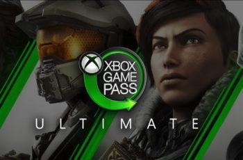 Скриншот экрана с рекламой Xbox Game Pass Ultimate