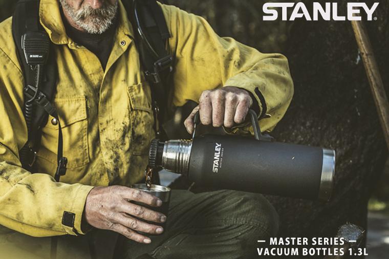 """Постер Stanley для термосов серии Master - """"Самые крутые из крутых""""."""