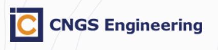 Логотип компании CNGS Engineering (входит в CNGS Group) c представительством в городе Астрахань.