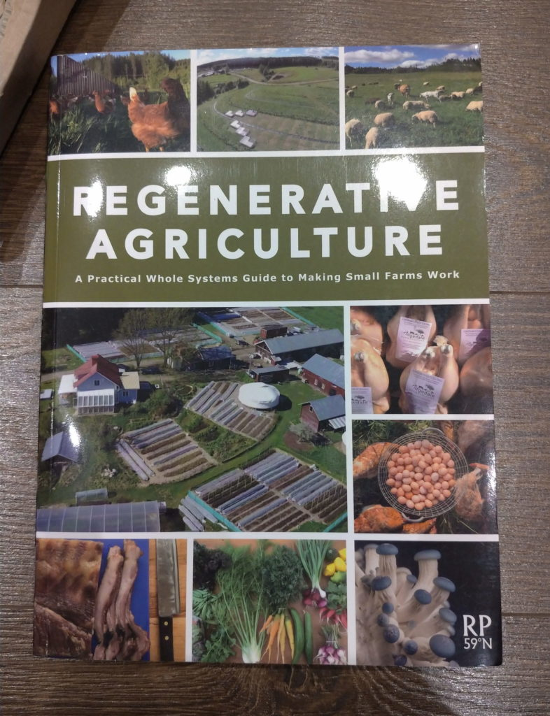 Regenerative Agriculture by Richard Perkins, book view